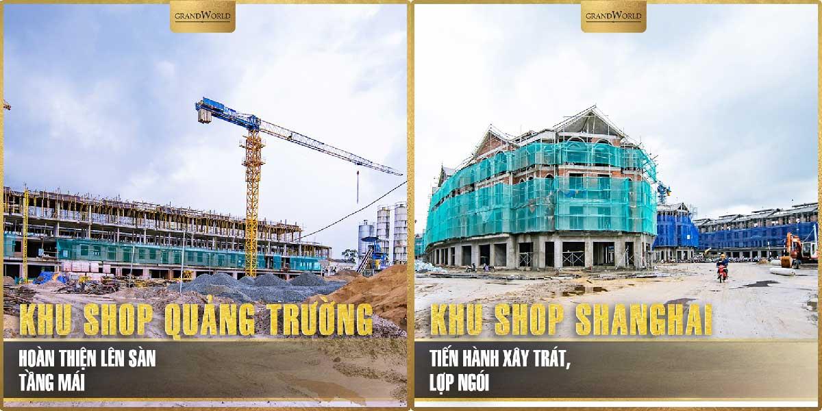 Tien do thi cong thuc te Du an Grand World Phu Quoc - GRAND WORLD PHÚ QUỐC