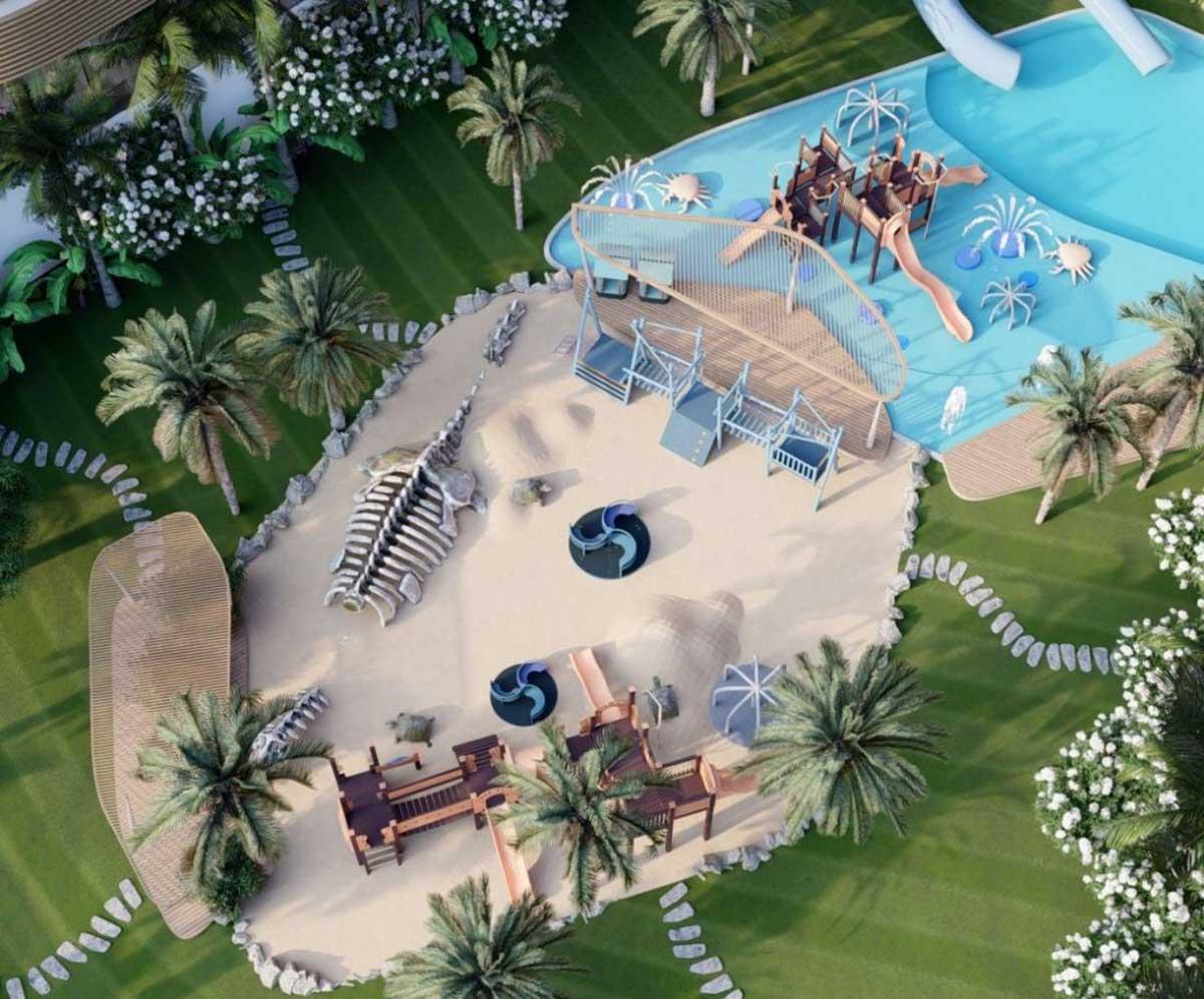 Tien ich Du an Charm Resort Lac Duong - CHARM RESORT LẠC DƯƠNG