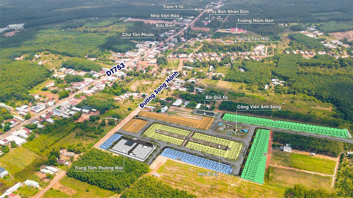 Tien ich Du an prime city binh phuoc - Prime City Bình Phước