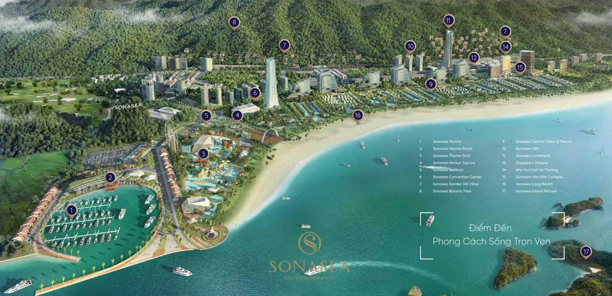 Tien ich SonaSea Van Don Harbor City - SONASEA VÂN ĐỒN HARBOR CITY