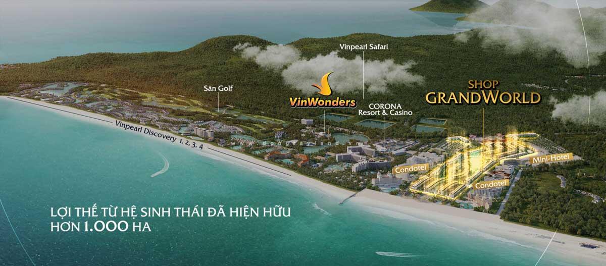 Tong the Du an Grand World Phu Quoc - GRAND WORLD PHÚ QUỐC