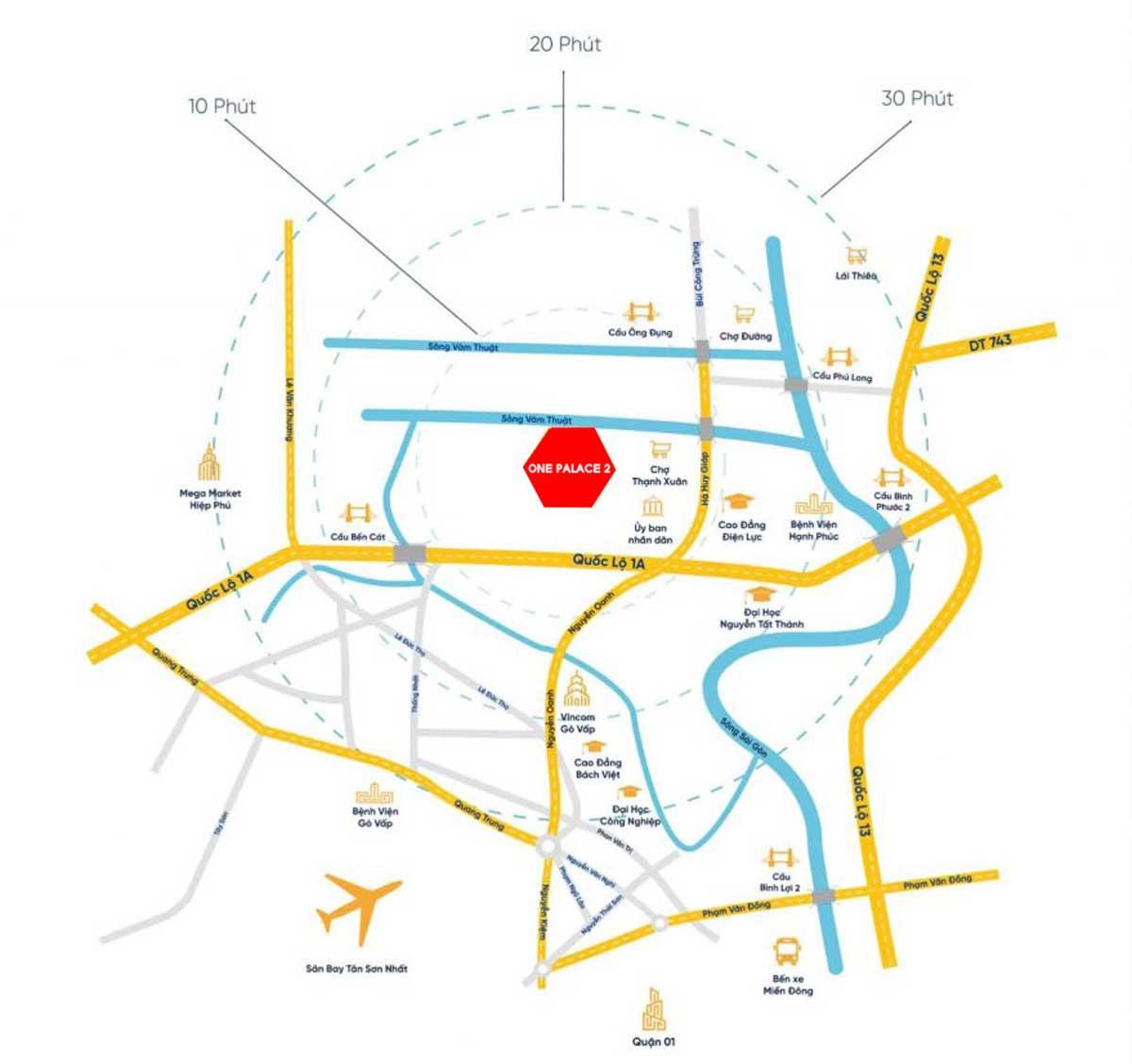 Vi tri Khu nha pho thuong mai One Palace 2 Quan 12 - Vị-trí-Khu-nhà-phố-thương-mại-One-Palace-2-Quận-12