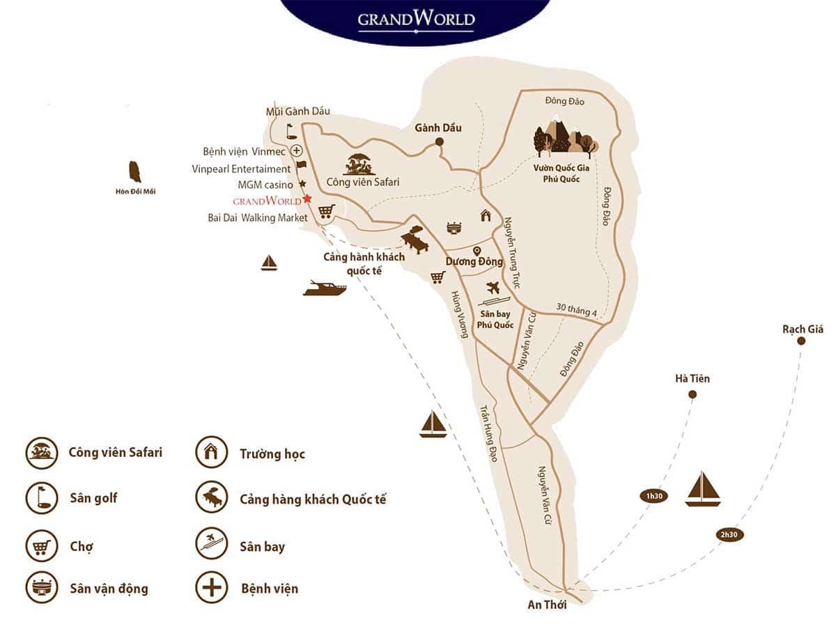 Vi tri lien ket vung Du an Grand World Phu Quoc - Vị-trí-liên-kết-vùng-Dự-án-Grand-World-Phú-Quốc