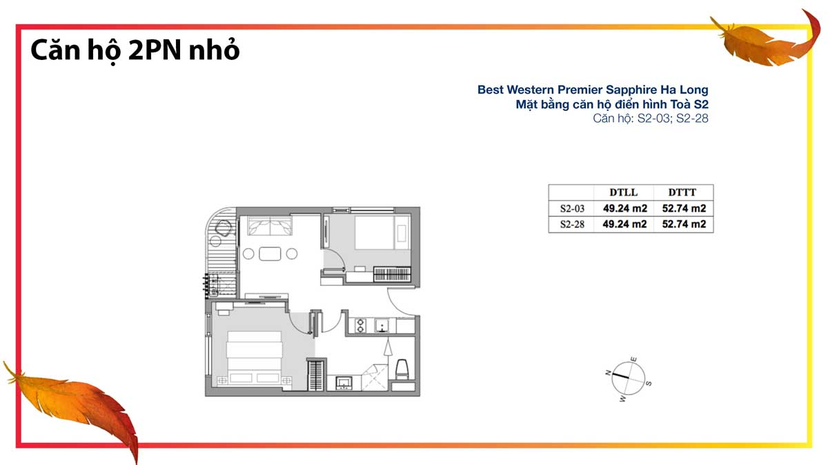 can ho 2 phong ngu nho the sapphire residence - Best Western Premier Sapphire
