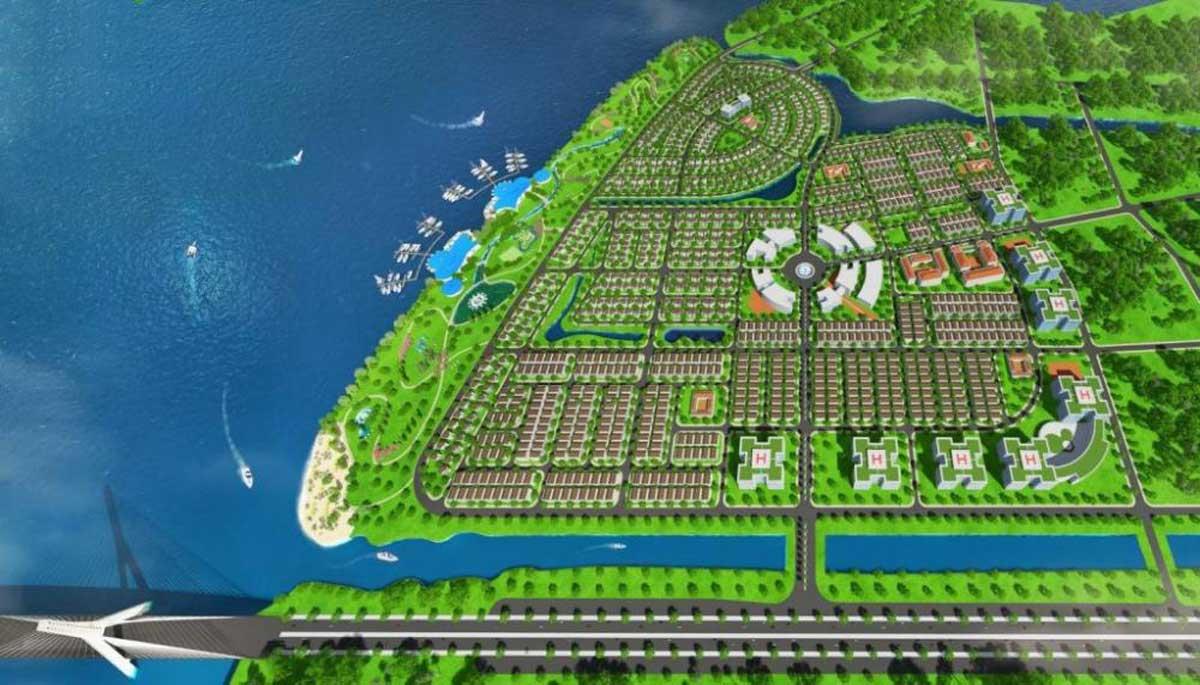 Phối cảnh Dự án Golden Bay 603 Cam Ranh
