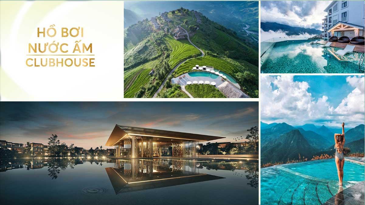 ho boi nuoc am Biet Thu Lang Phap Bao Loc Resort Spa - hồ-bơi-nước-ấm-Biệt-Thự-Làng-Pháp-Bảo-Lộc-Resort-&-Spa