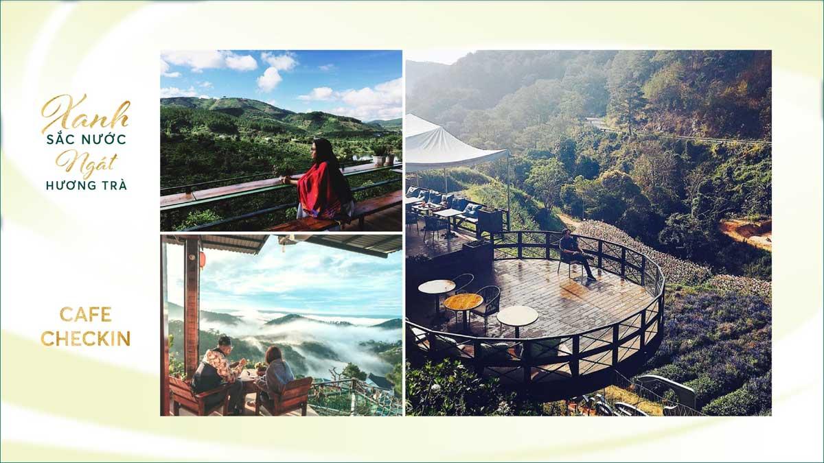 khu ca phe Biet Thu Lang Phap Bao Loc Resort Spa - khu-cà-phê-Biệt-Thự-Làng-Pháp-Bảo-Lộc-Resort-&-Spa