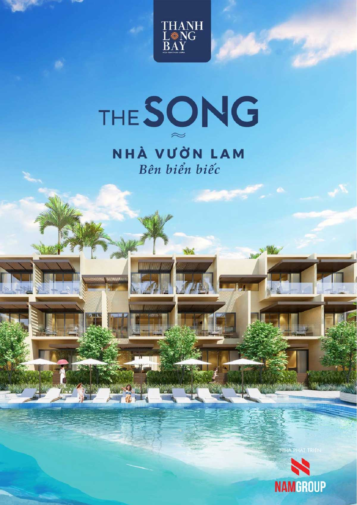 nha pho 2 mat tien bien the song bay thanh long bay - The Song By Thanh Long Bay