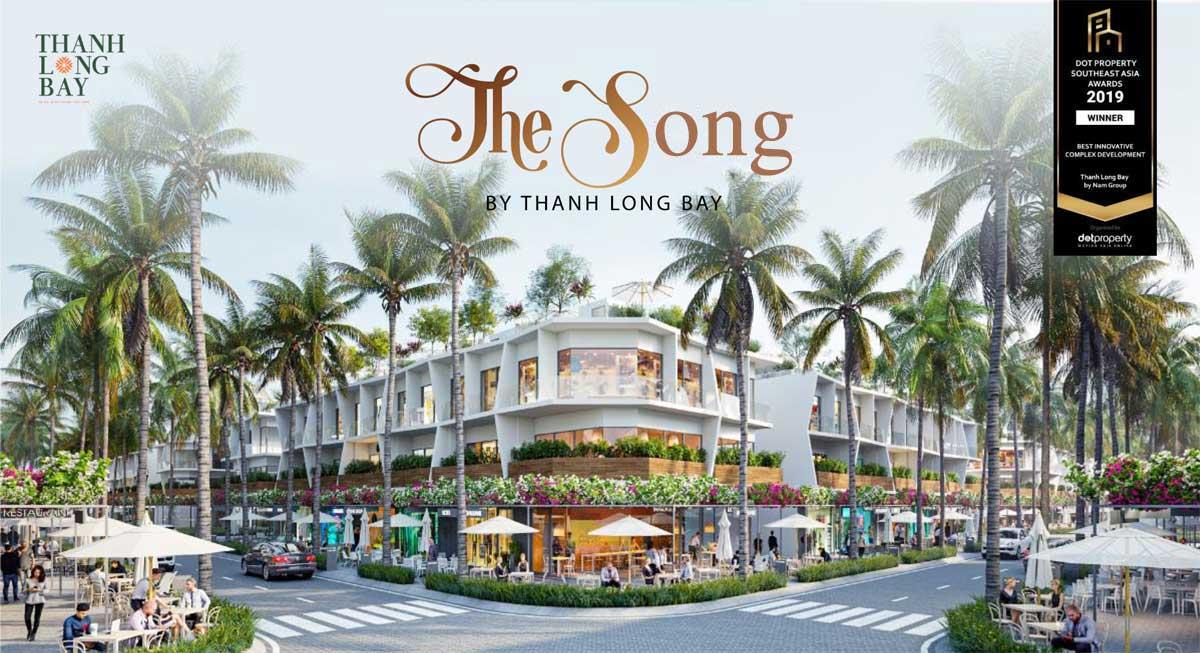 Phân khu Nhà phố The Song By Thanh Long Bay