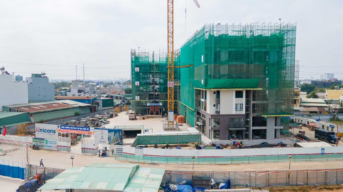 tien do thi cong Park 5 du an picity high park thang 2 nam 2021 - PICITY HIGH PARK