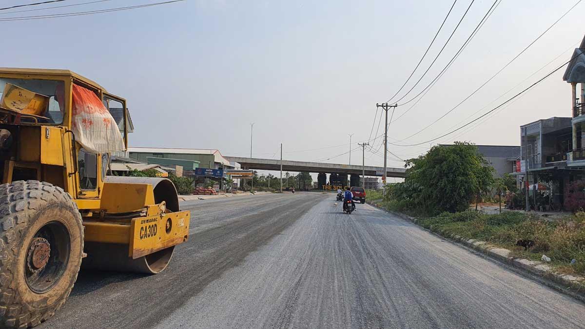tien do thi cong du an the sol city long an thang 3 nam 2021 - The Sol City