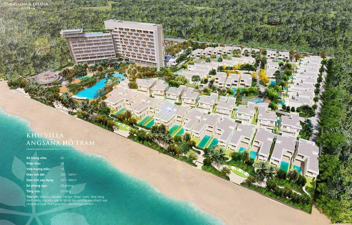 Tổng thể Dự án Angsana Residences Hồ Tràm