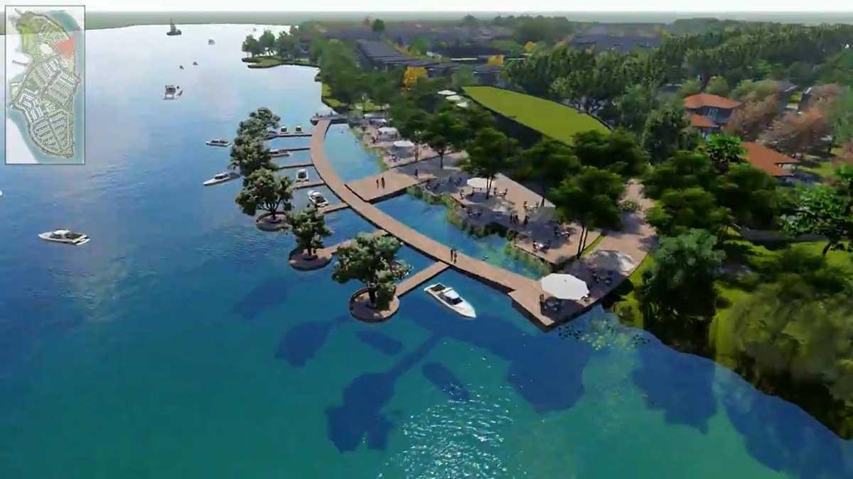 Ben du thuyen Du an Tan Van Island - Tân Vạn Island