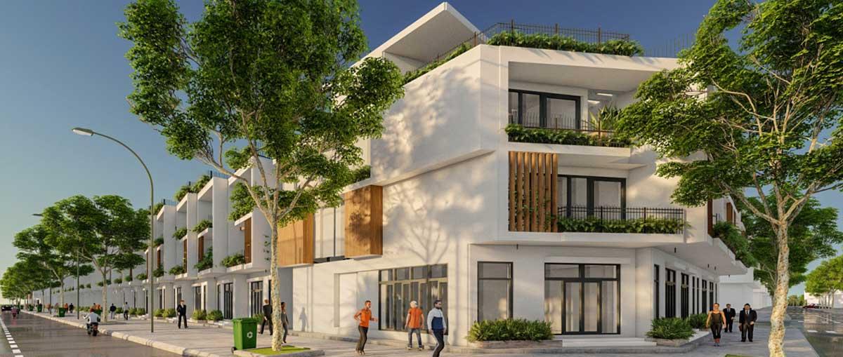 Biet thu Green Sailing Town Apartment Long An - Biệt-thự-Green-Sailing-Town-Apartment-Long-An