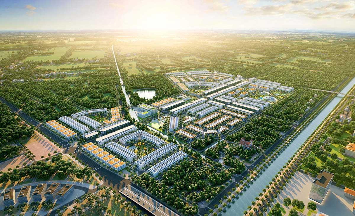 Phối cảnh Dự án Vị Thanh New City Hậu Giang