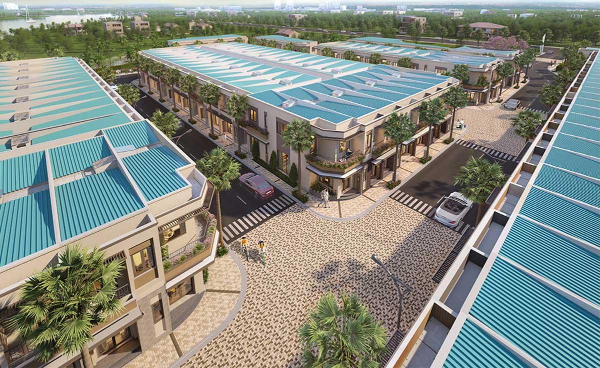 Duong noi khu Du an Taka Garden Riverside Homes - Duong-noi-khu-Du-an-Taka-Garden-Riverside-Homes