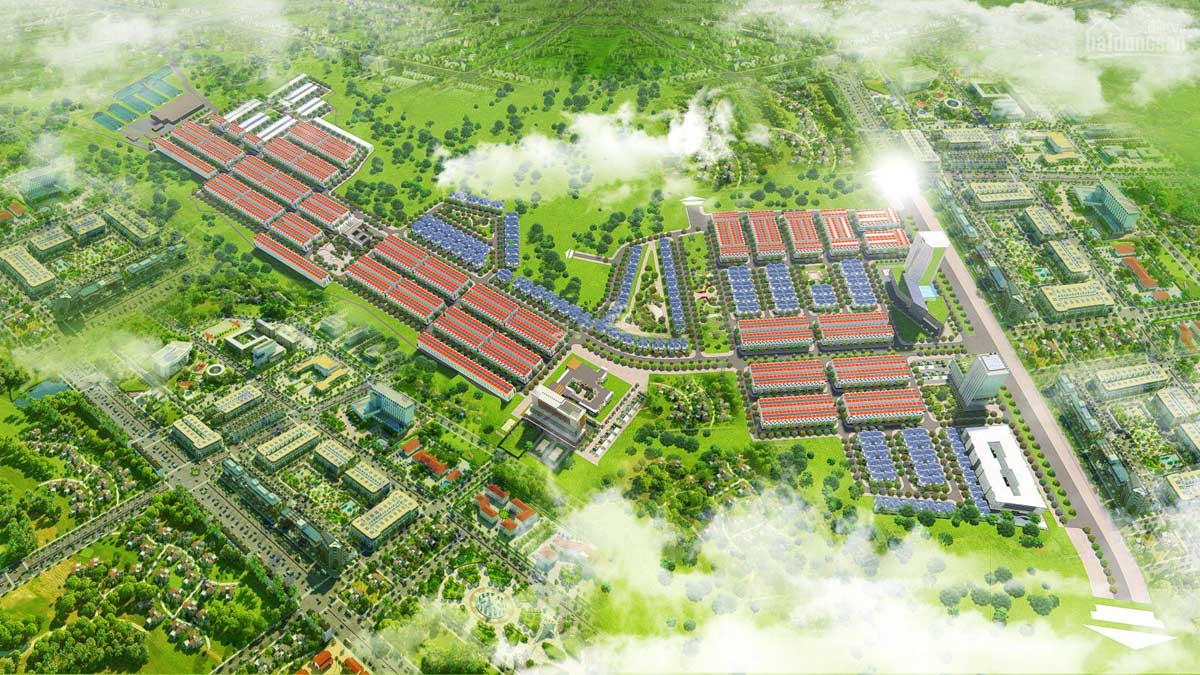 Phối cảnh Dự án Felicia City Bình Phước