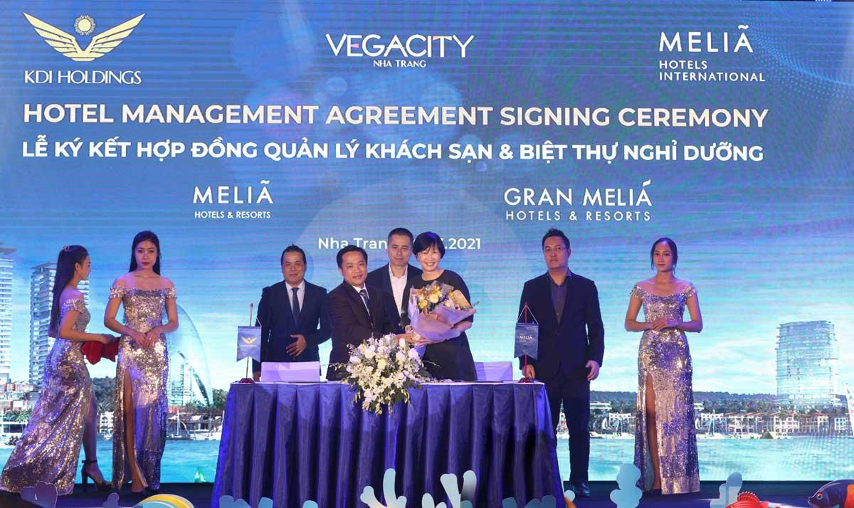 KDI Holdings ky ket hop tac voi Melia Hotels International - KDI-Holdings-ký-kết-hợp-tác-với-Meliá-Hotels-International
