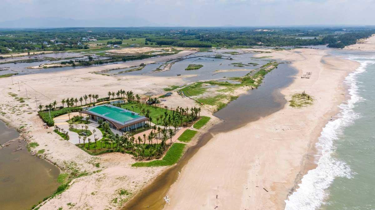 Khu nha dieu hanh Du an Venezia Beach Binh Thuan - VENEZIA BEACH VILLAGE BÌNH THUẬN