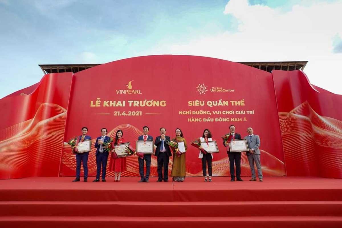 Le khai truong Phu Quoc United Center - Le-khai-truong-Phu-Quoc-United-Center