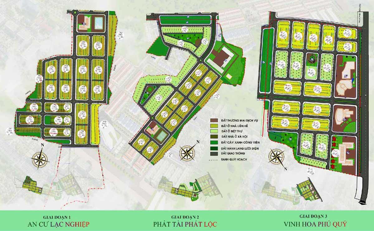 Mat bang 3 giai doan Du an Felicia City Binh Phuoc - Mặt-bằng-3-giai-đoạn-Dự-án-Felicia-City-Bình-Phước