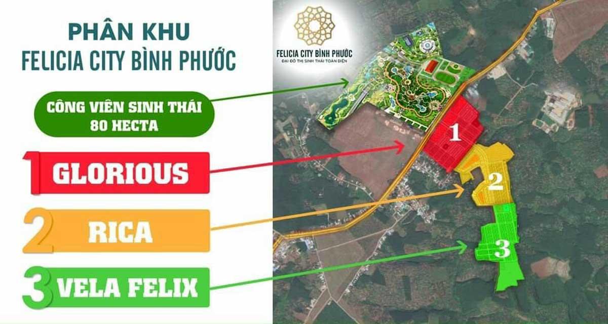 Mat bang Tong the Du an Felicia City Binh Phuoc - Mặt-bằng-Tổng-thể-Dự-án-Felicia-City-Bình-Phước