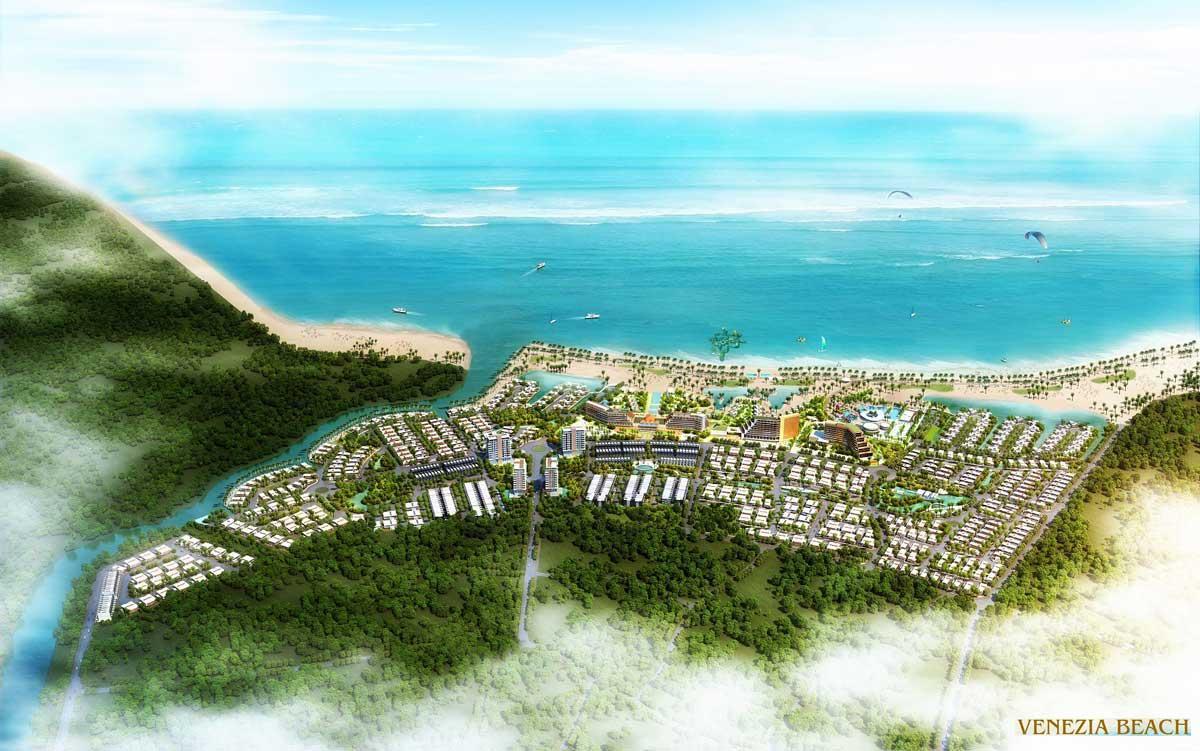 Mat bang Tong the Du an Venezia Beach Binh Thuan - VENEZIA BEACH VILLAGE BÌNH THUẬN
