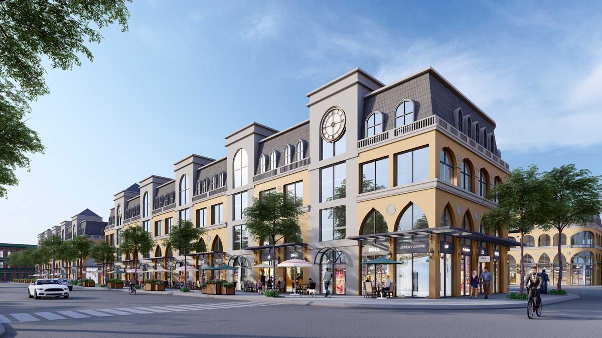 Phoi canh Boulevard Shophouse Venezia Beach - Phoi-canh-Boulevard-Shophouse-Venezia-Beach
