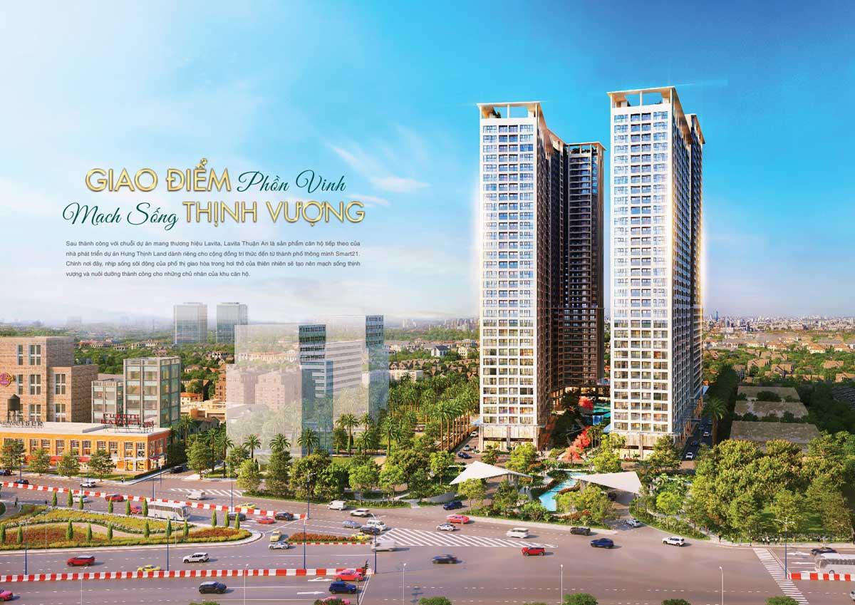 Phối cảnh Dự án Căn hộ Lavita Thuận An Bình Dương