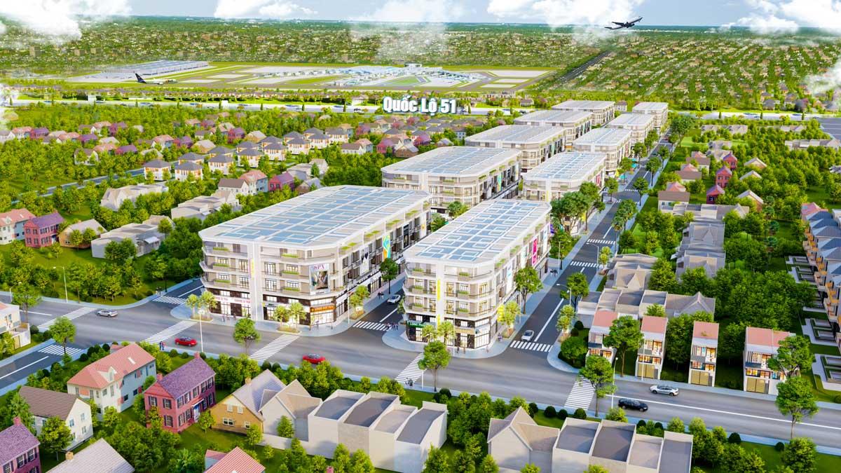 Phối cảnh Dự án Long Phát Residence Long Thành Đồng Nai