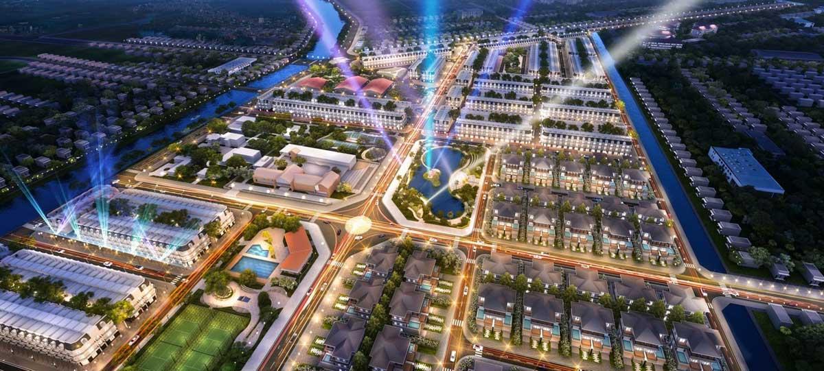 Phoi canh du an Vi Thanh New City ve dem - Phối-cảnh-dự-án-Vị-Thanh-New-City-về-đêm
