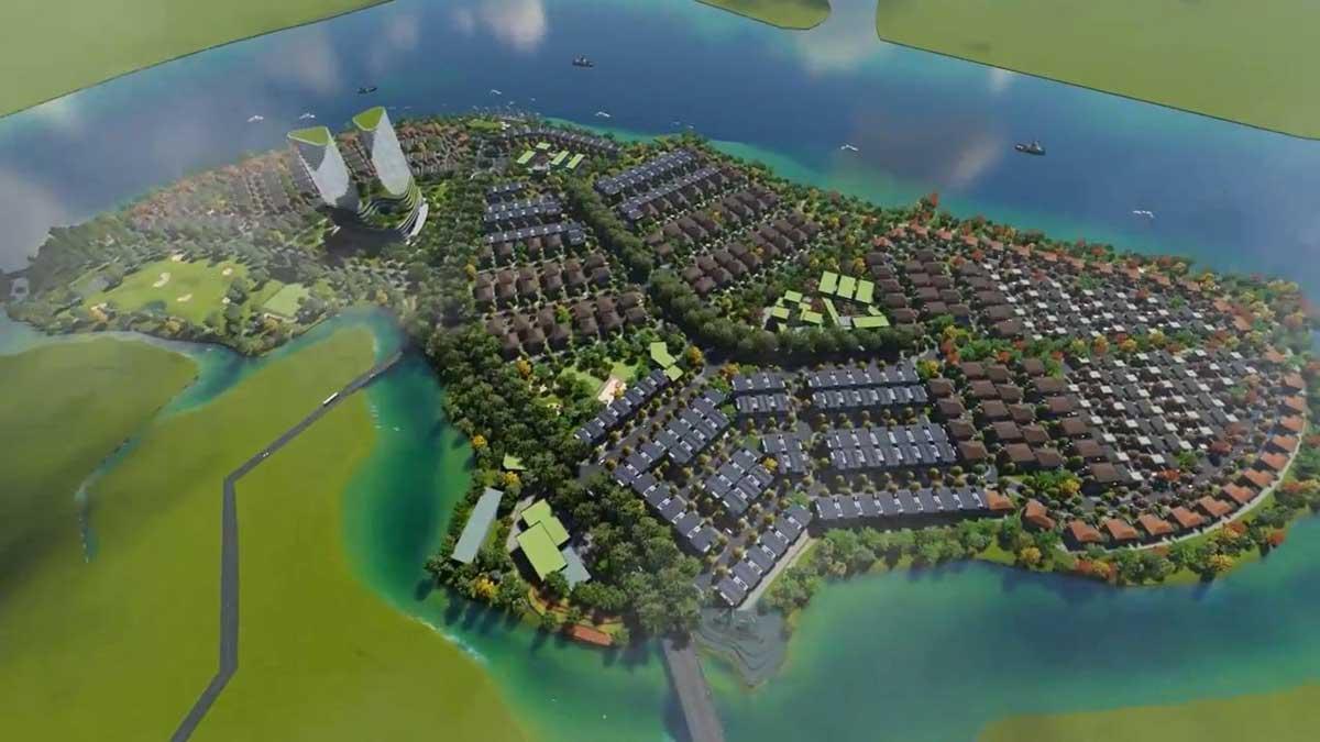 Toàn cảnh Dự án Tân Vạn Island Biên Hòa Đồng Nai