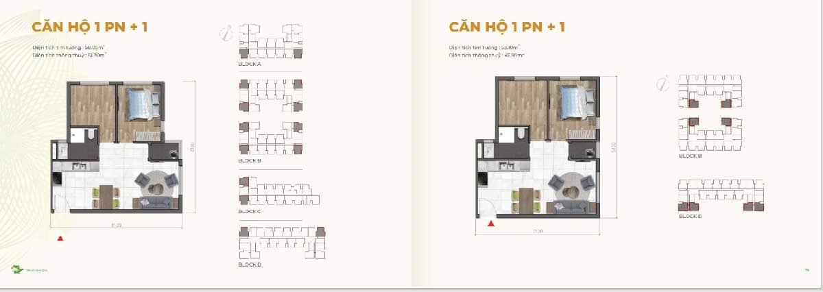 Thiet ke Can ho 1PN Dragon E Home - Thiet-ke-Can-ho-1PN-Dragon-E-Home