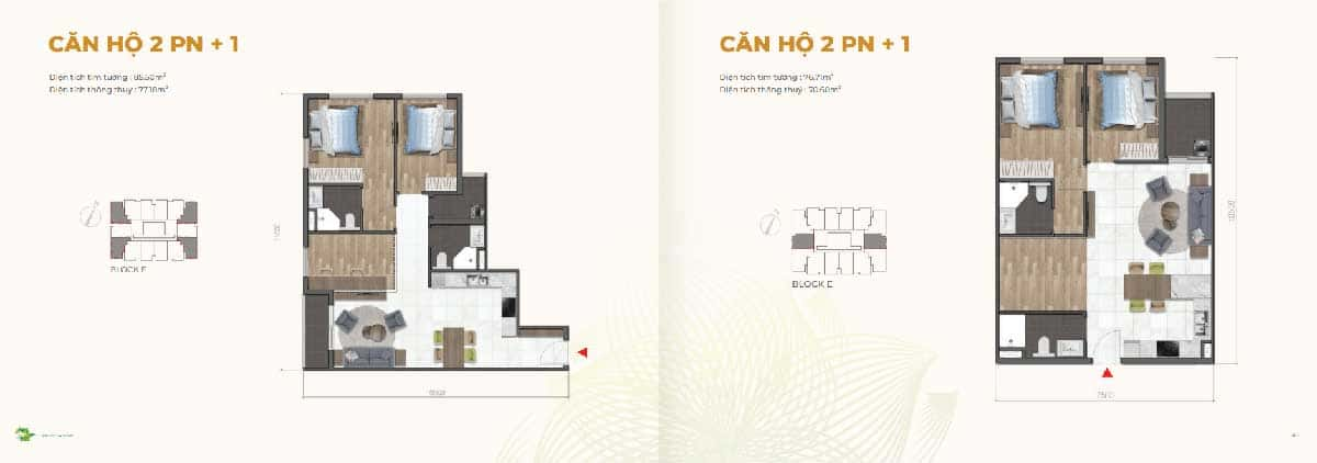 Thiet ke Can ho 2PN Dragon E Home - Thiet-ke-Can-ho-2PN-Dragon-E-Home
