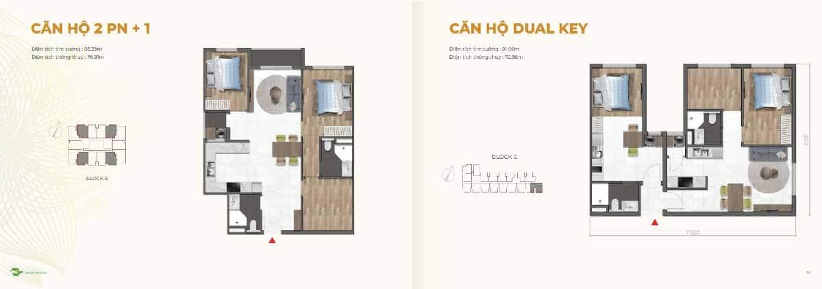 Thiet ke Can ho 2PN va Dual Key Dragon E Home - Thiet-ke-Can-ho-2PN-va-Dual-Key-Dragon-E-Home