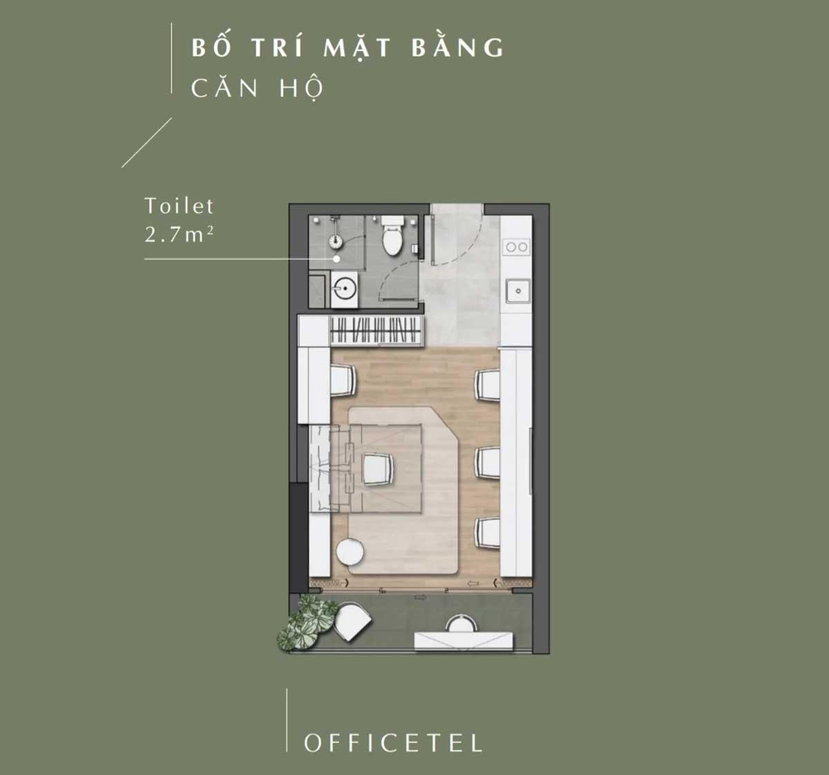 Thiet ke Can ho Officetel Lavita Thuan An - LAVITA THUẬN AN BÌNH DƯƠNG