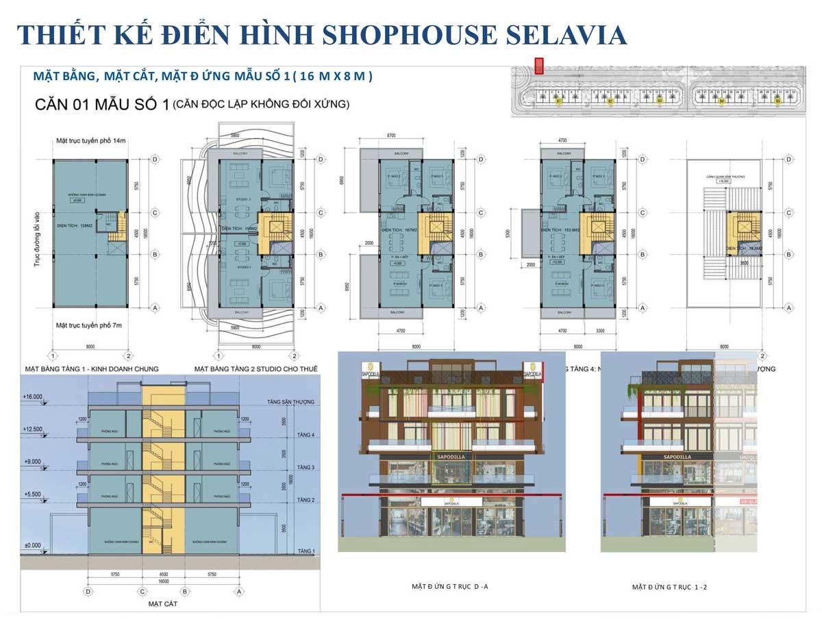 Thiet ke can 1 Shophouse Selavia Phu Quoc - SELAVIA PHÚ QUỐC