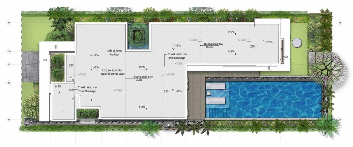 Thiet ke tang thuong Biet thu beachfront Angsana Ho tram - Thiết-kế-tầng-thượng-Biệt-thự-beachfront-Angsana-Ho-tram