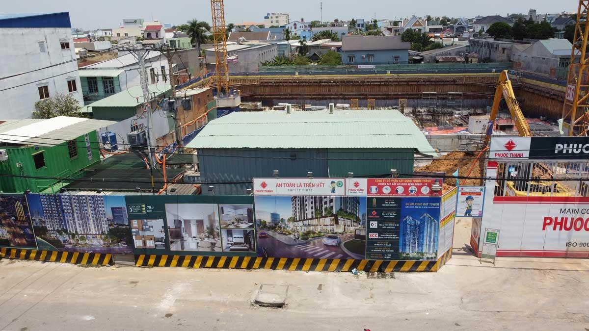 Tien do thi cong Du an Can ho Phuc Dat Tower nam 2021 - PHÚC ĐẠT TOWER