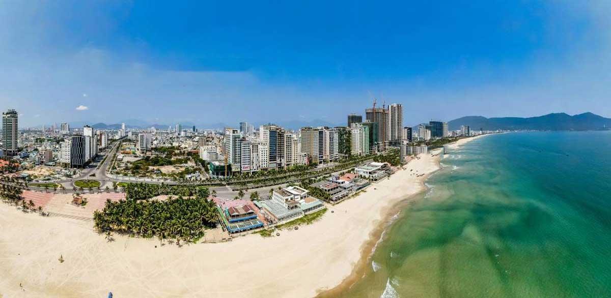 Tien do thi cong Du an Thap tai chinh Da Nang Gateways moi nhat 2021 - Đà Nẵng Gateways