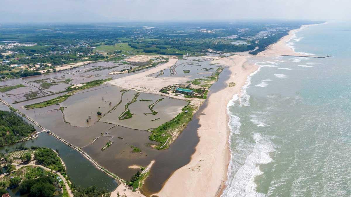 Tien do thi cong Du an Venezia Beach Binh Thuan 2021 - VENEZIA BEACH VILLAGE BÌNH THUẬN