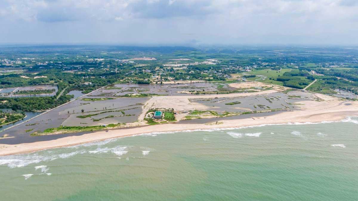 Tien do thi cong Du an Venezia Beach Binh Thuan - VENEZIA BEACH VILLAGE BÌNH THUẬN