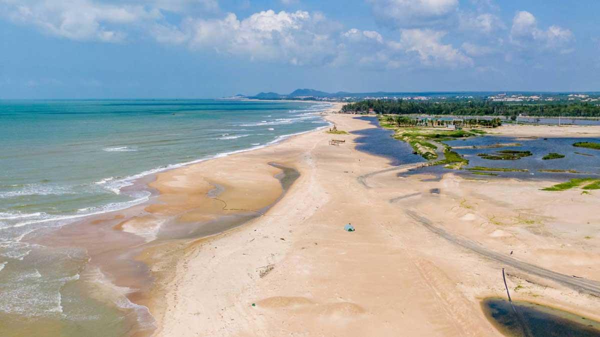 Tien do thi cong Du an Venezia Beach - VENEZIA BEACH VILLAGE BÌNH THUẬN