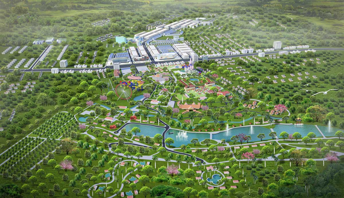 Tien ich khu cong vien du an Felicia City Binh Phuoc - FELICIA CITY BÌNH PHƯỚC