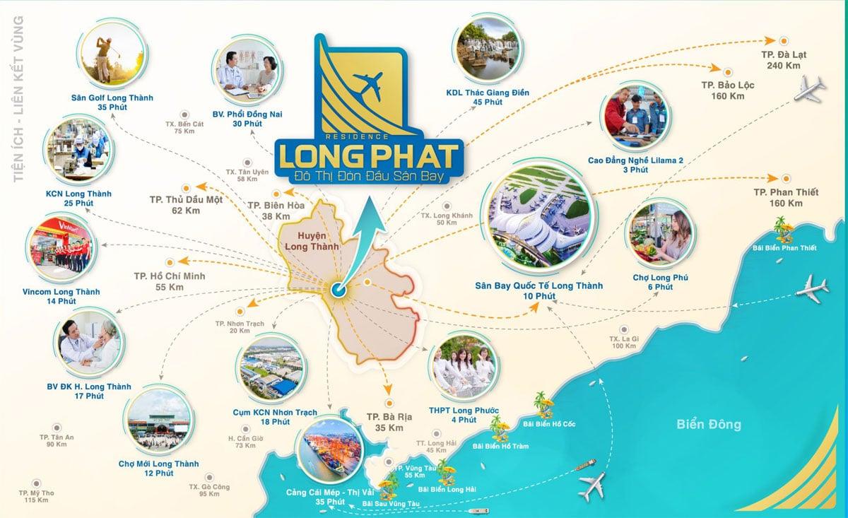 Tien ich lien ket vung Du an Long Phat Residence - LONG PHÁT RESIDENCE