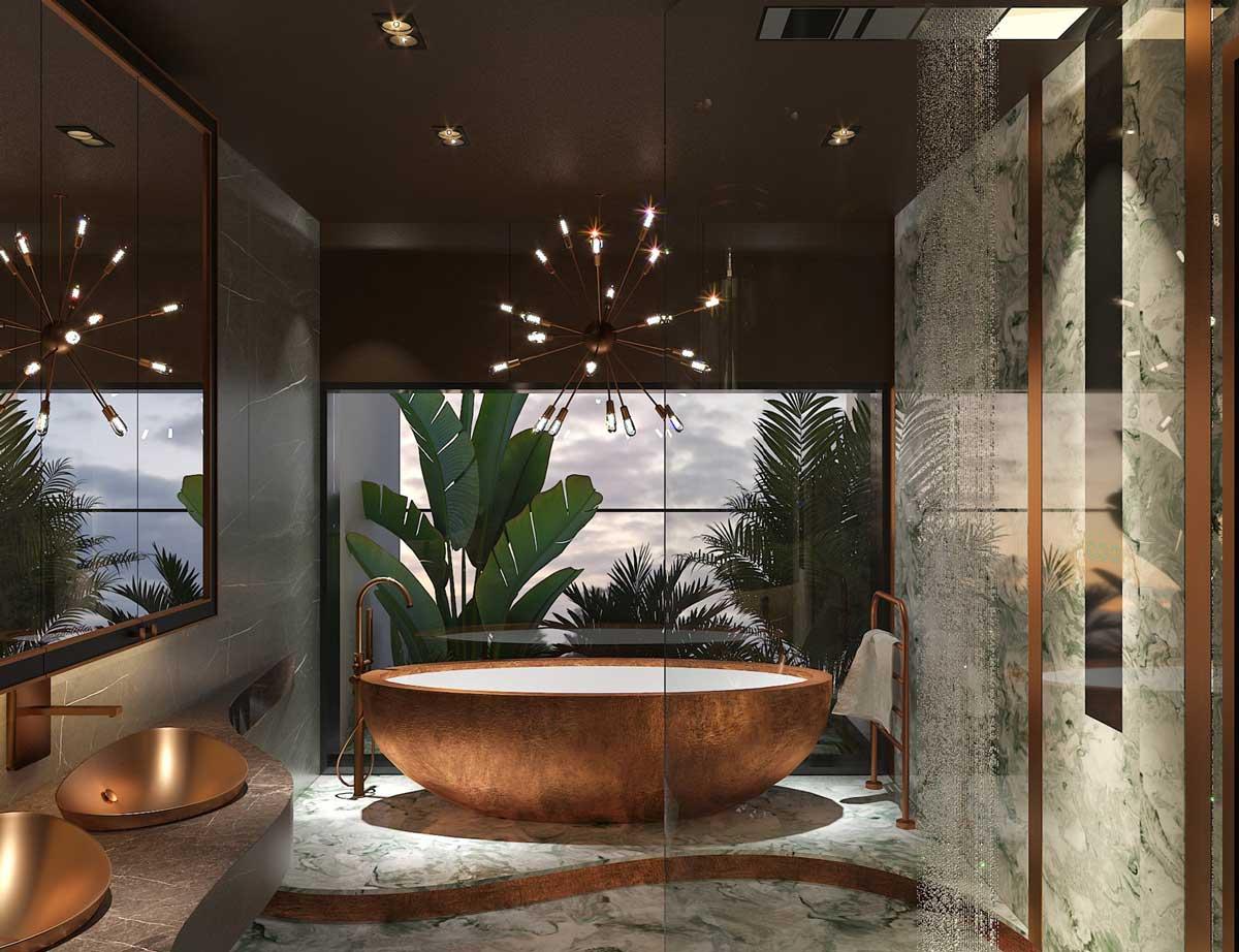 Toilet Biet thu The 9 Stellars 2021 - The 9 Stellars
