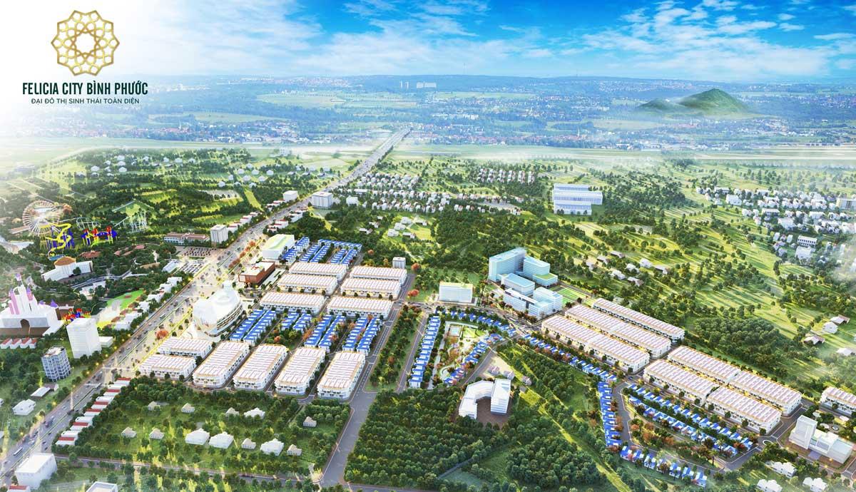 Tong quan Felicia City Binh Phuoc - FELICIA CITY BÌNH PHƯỚC