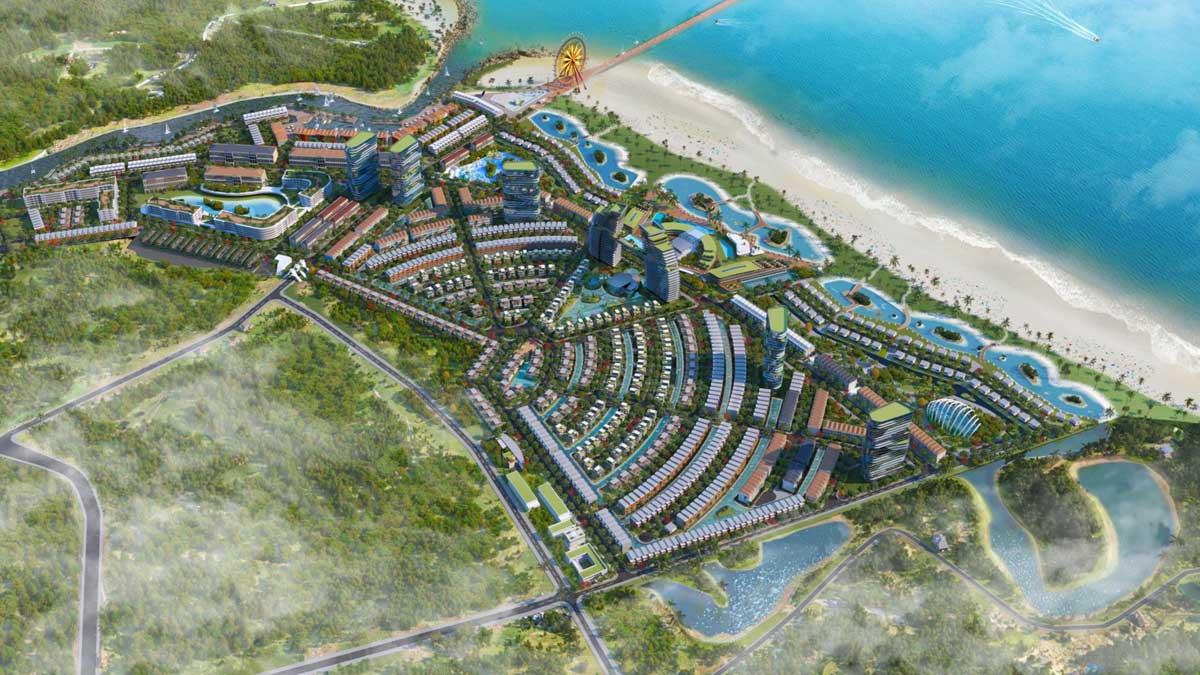 Khu du lịch sinh thái biển cao cấp Venezia Beach Bình Thuận