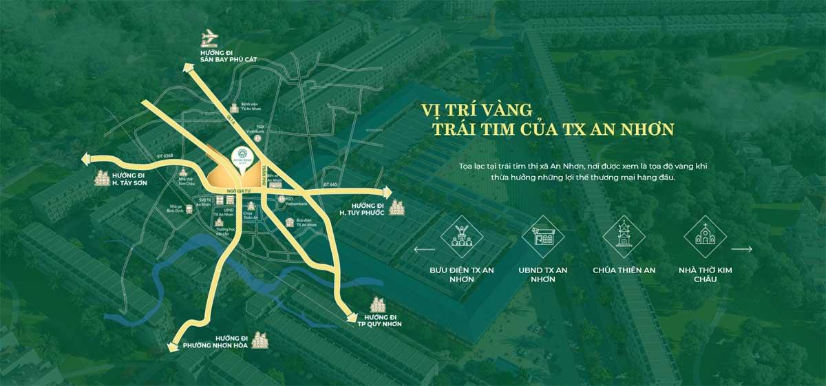 Vi tri Du an Hung Dinh City - Hưng Định City