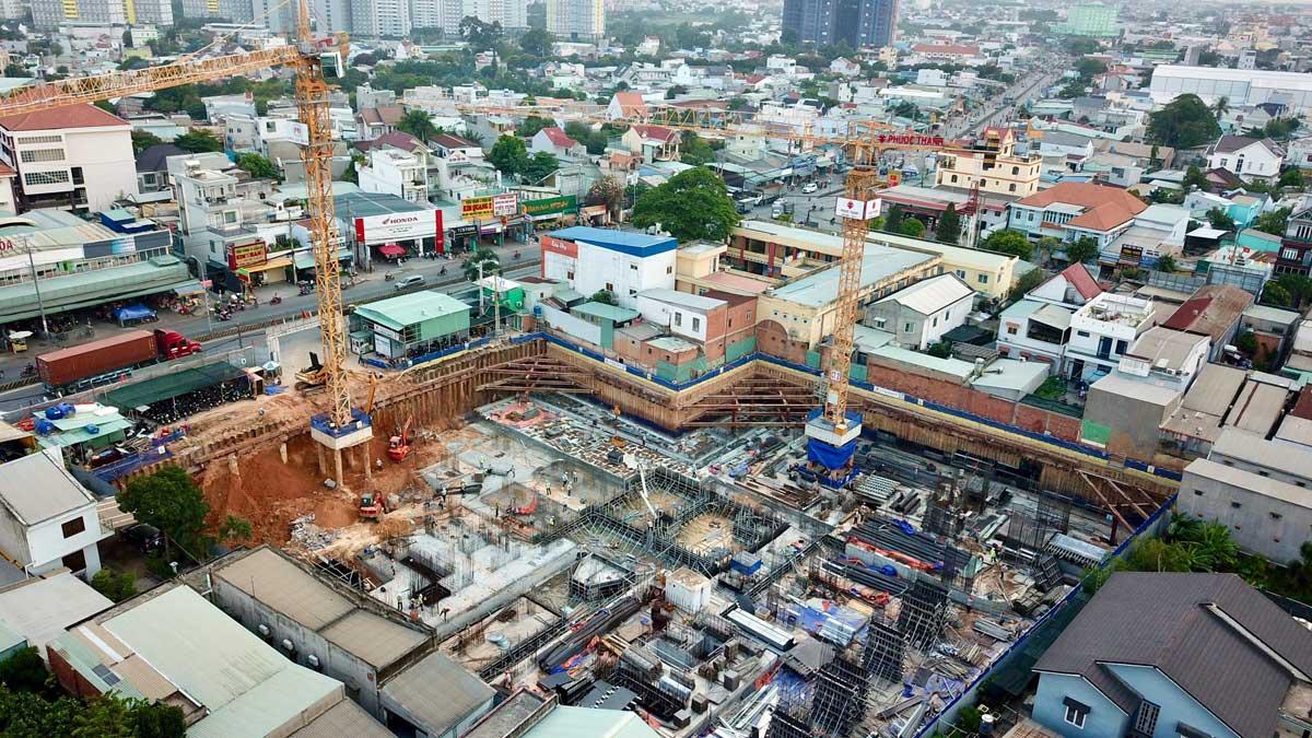 cap nhat tien do thi cong du an can ho phuc dat tower thang 4 nam 2021 - PHÚC ĐẠT TOWER